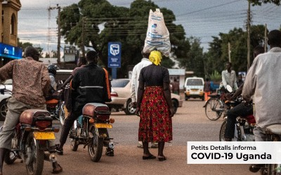 Uganda afronta con incertidumbre la evolución de la pandemia