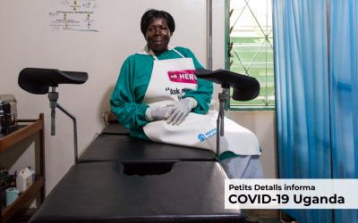 Ser mujer en tiempos de pandemia en Uganda